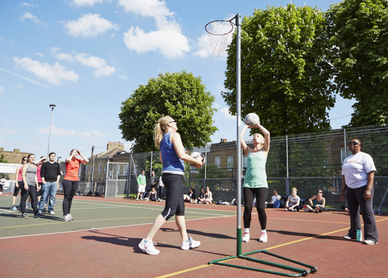 NetBusters | GoSweat | Where to play Netball in Wandsworth?