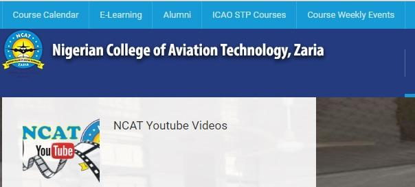 Nigerian college of aviation technology zaria