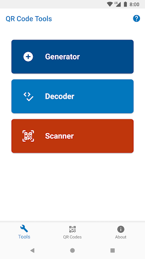 QR Tools - Generator, Scanner & Decoder- screenshot thumbnail