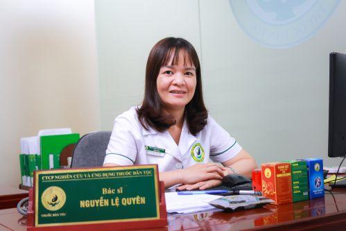 Bác sĩ Nguyễn Thị Lệ Quyên chữa viêm da dị ứng