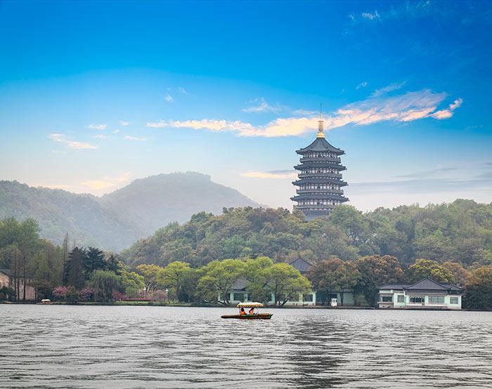 Западное озеро, Озеро Сиху, Западное озеро в Ханчжоу | Чайна Хайлайтс