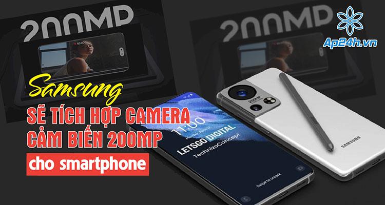 Samsung ra mắt cảm biến camera ISOCELL 200MP và 50MP
