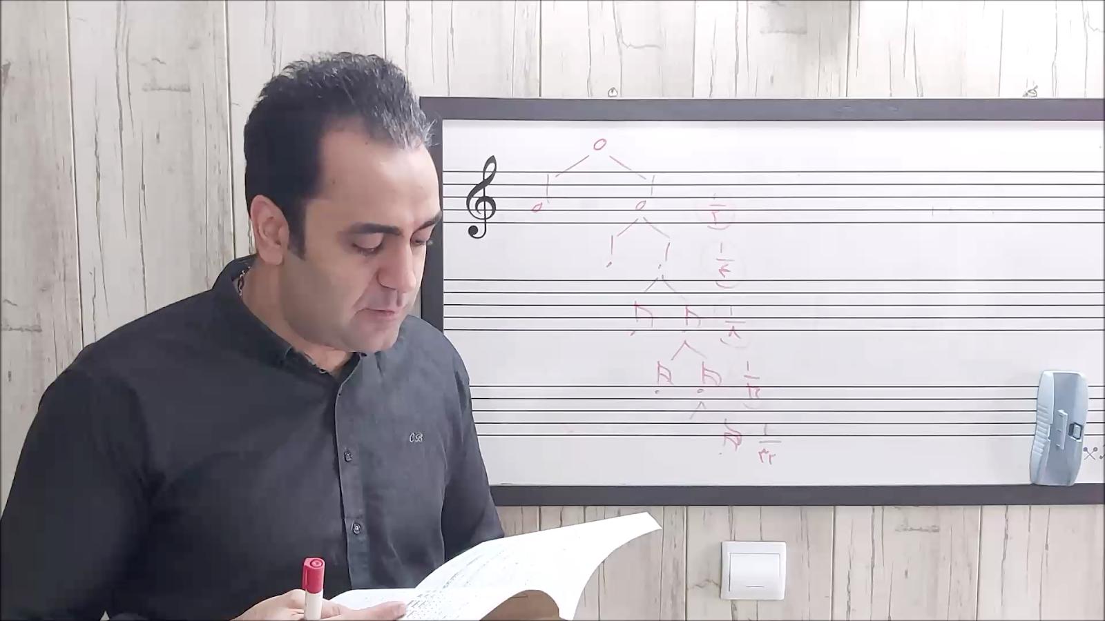 آموزش تئوری موسیقی پرویزمنصوری فصل یکم نقش نقطه ایمان ملکی