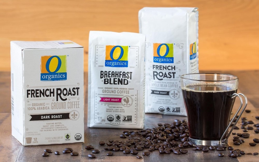 bags of private label coffee