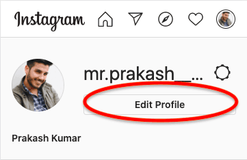 How to change Instagram name
