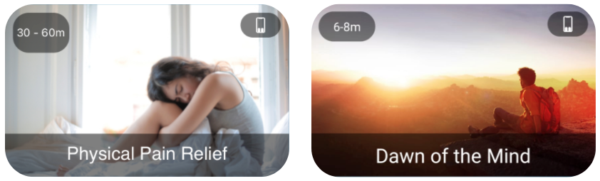 MindFlow App - Pain Relief and Dawn of the Mind Flows to manage pain