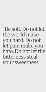 Image result for tough on the outside soft on the inside quotes