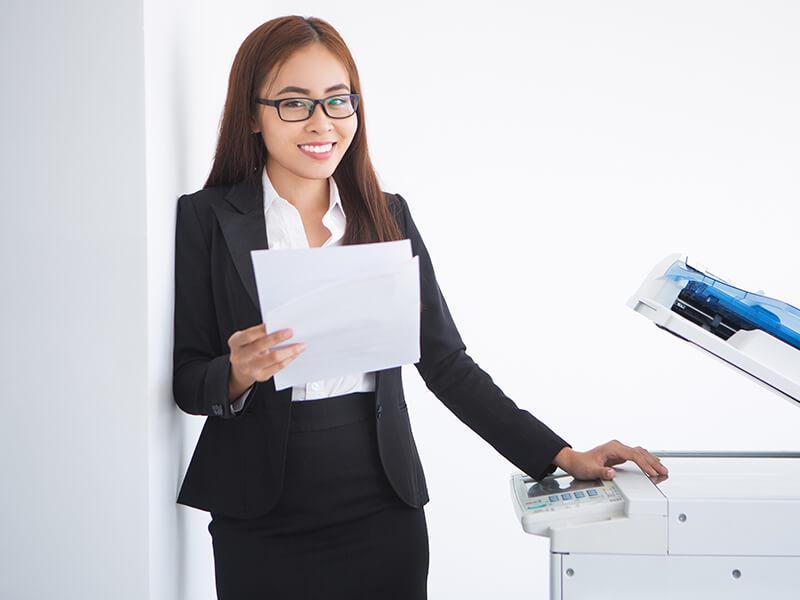 Tình hình thuê máy photocopy tại quận 8