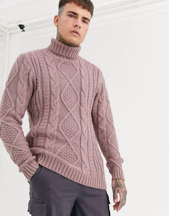 Preppy knitwear