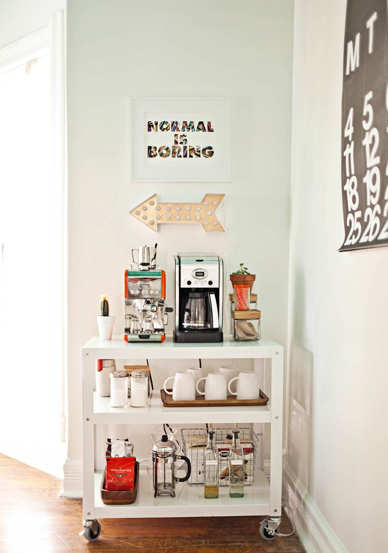 7 DIY Coffee Bar Ideas For Your Home