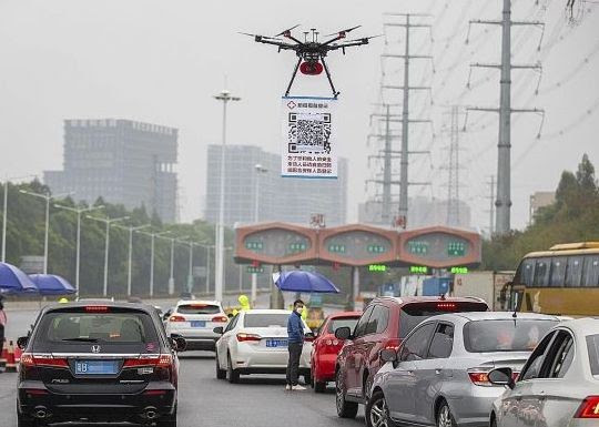 Drones in China (What China did, what Nigeria should do — COVID19)