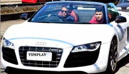 the top car of Brazilian footballer