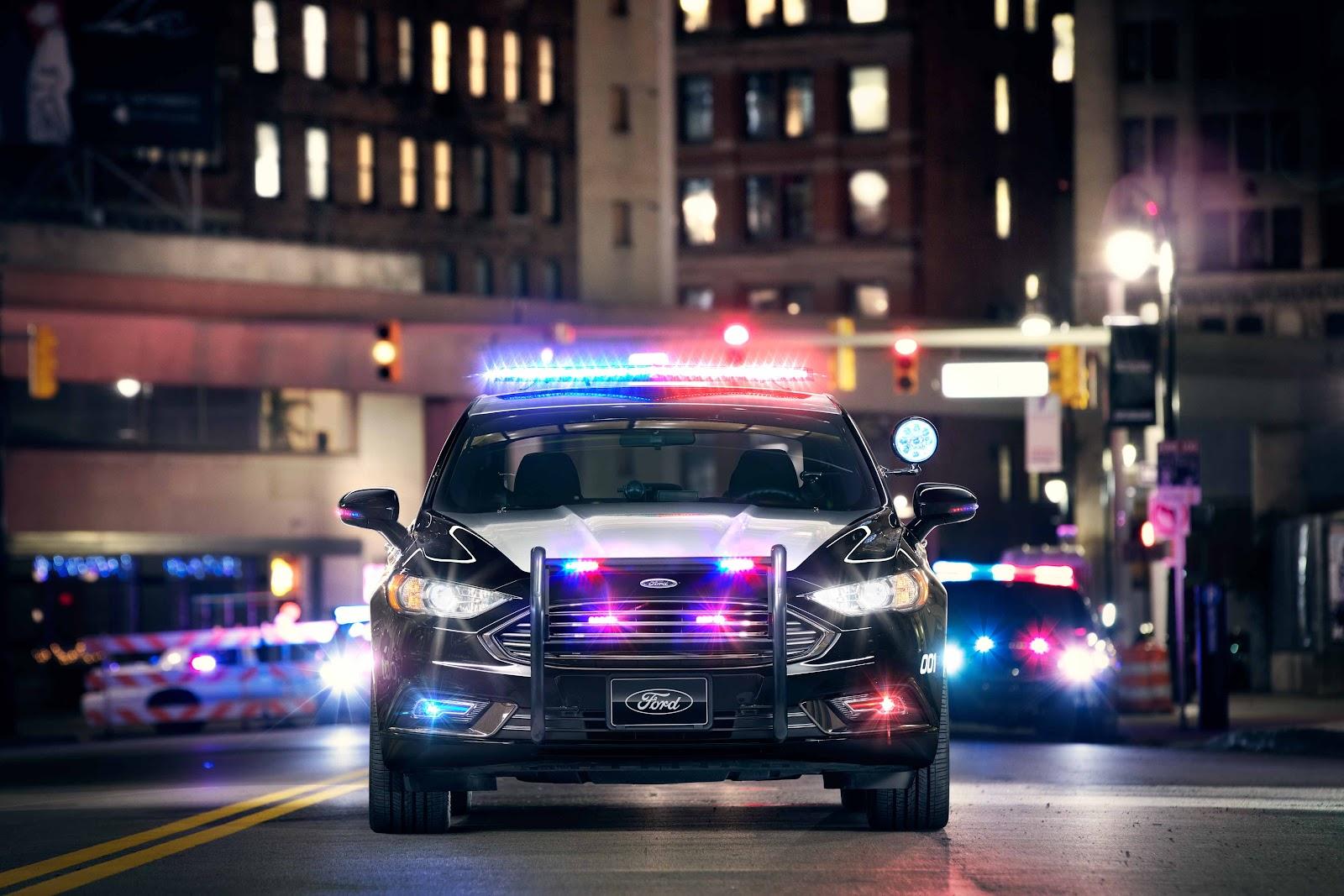 Police Hybrid Patrol Car