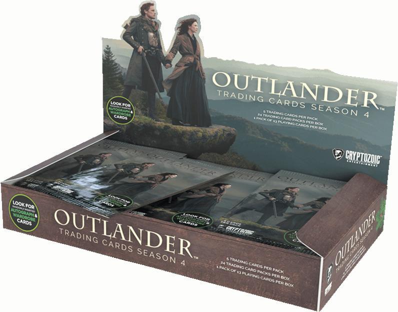 Outlander Trading Cards Season 4