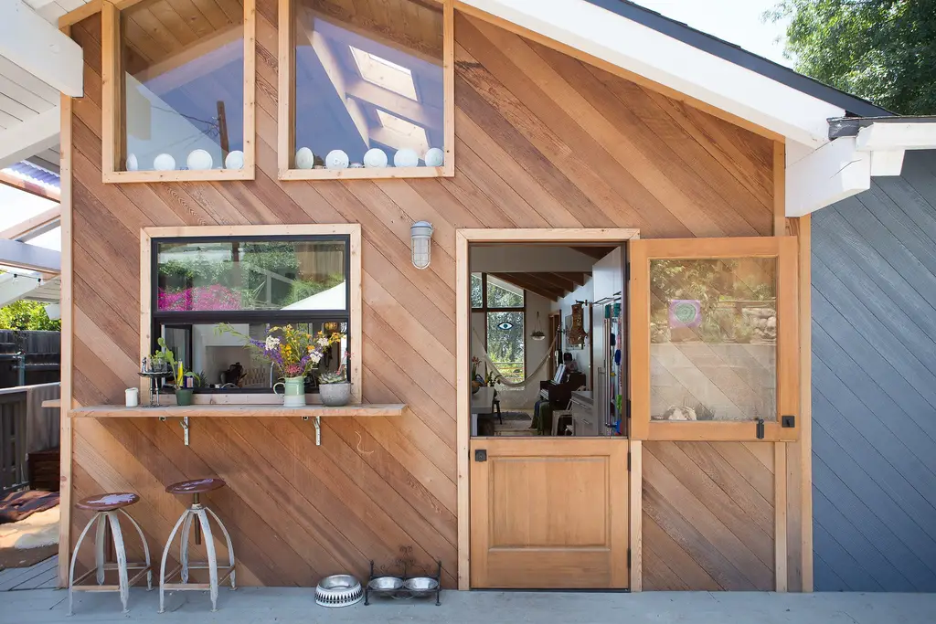 treehouse airbnb gym santa monica