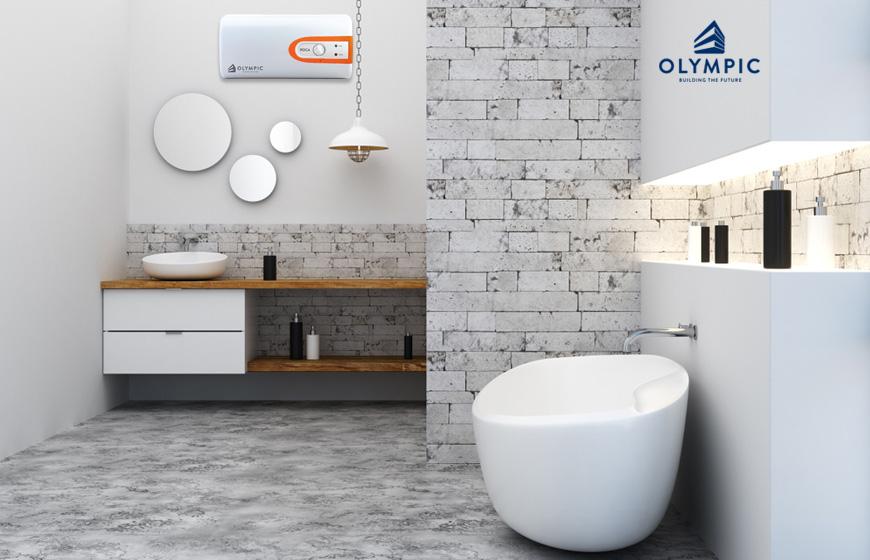 Thiết kế nhà tắm 2m2 với kiến trúc tối giản