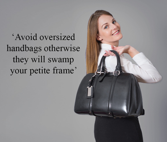 oversized hand bags for petite women