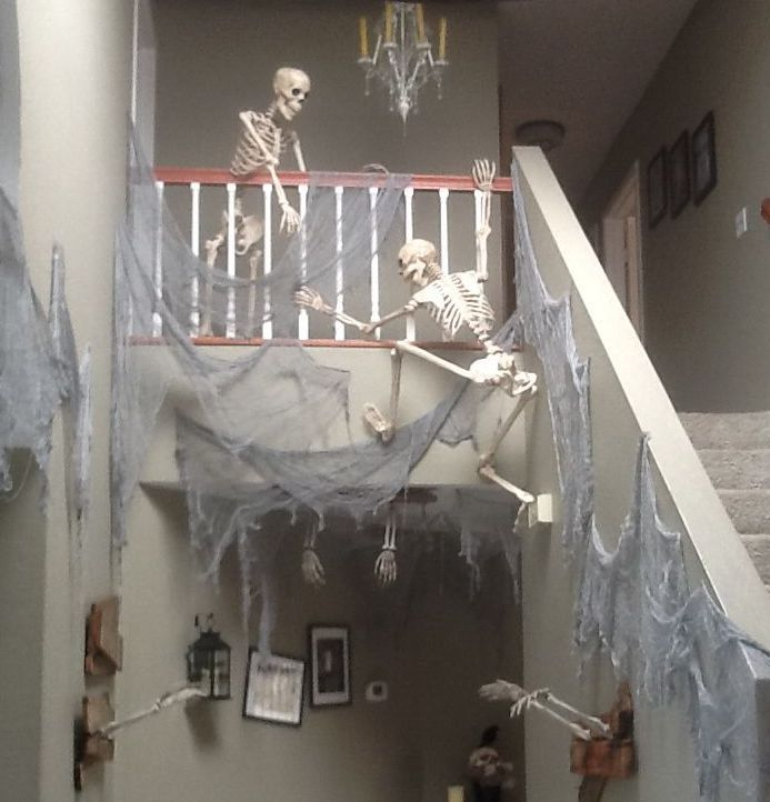 Halloween Decorating Ideas Staircase