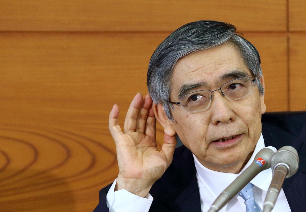 Gouverneur de la banque du japon