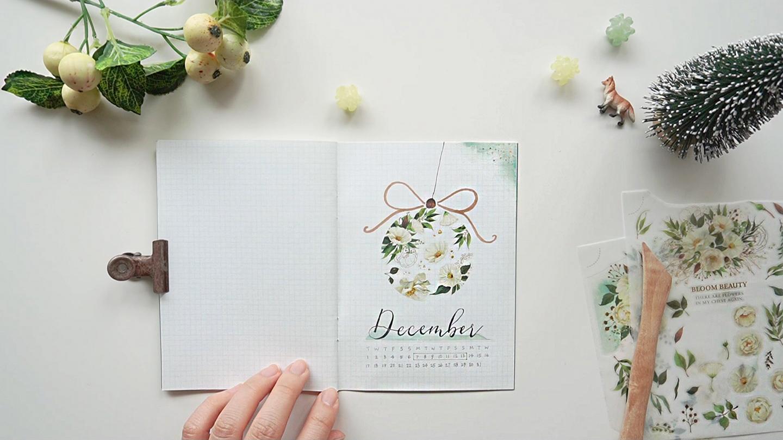 轉印貼紙 手帳裝飾 聖誕手帳