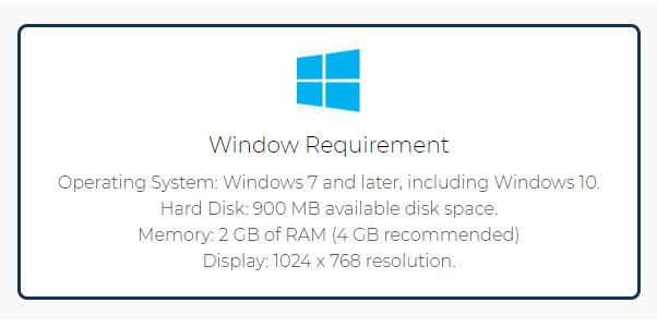 FTM requirements windows