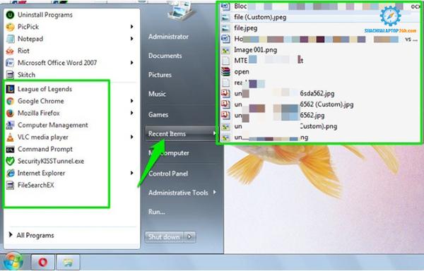 hướng dẫn cách kiểm tra laptop bị người khác sử dụng