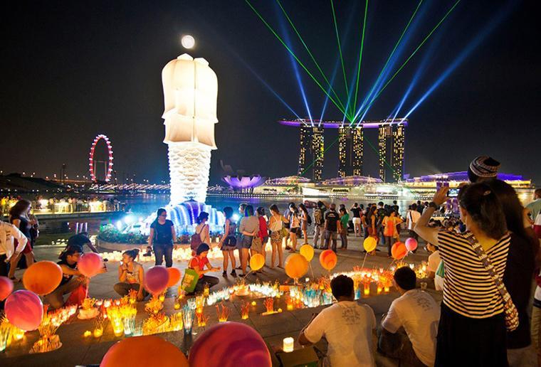 Đón tết Trung thu ở Singapore - Air Booking