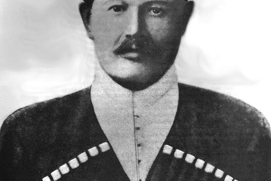 Микола Рябовол. - голова Кубанської Законодавчої Ради в 1918-1919 рр.