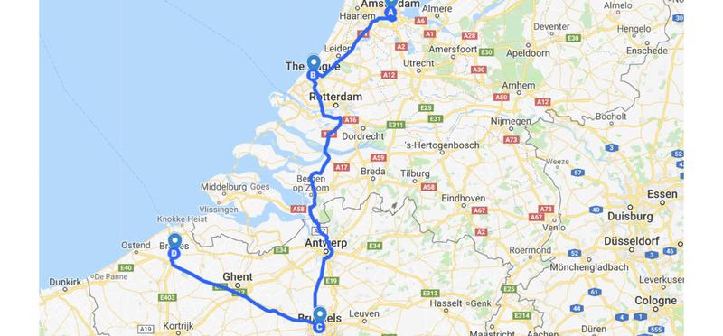 Goboony Campervan Europa Paesi Bassi Belgio H2 Road Trip