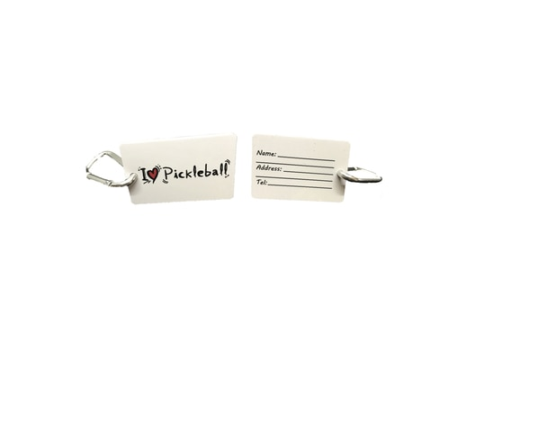 Great for hanging your Pickleball Bag or other accessory on the nearest fence to protect it from the ground. It's also a fantastic way to show your love toward the sport of Pickleball.