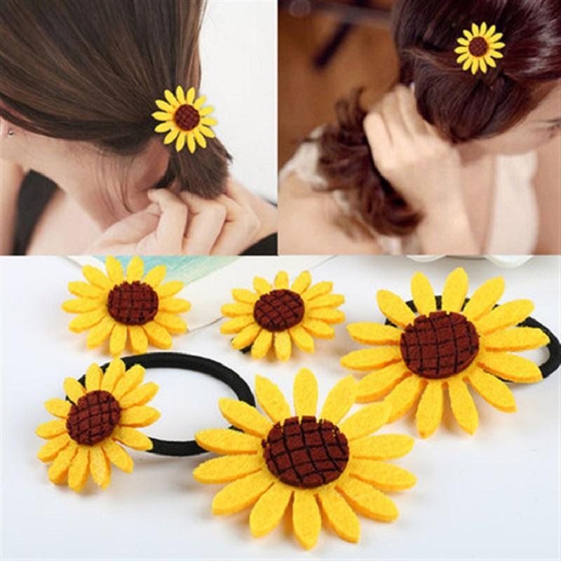 Sunflower Hairpin/ Tie