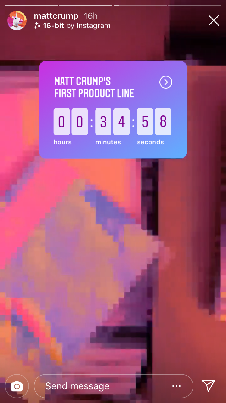 How to Use the Countdown Sticker for Instagram Stories - Later Blog
