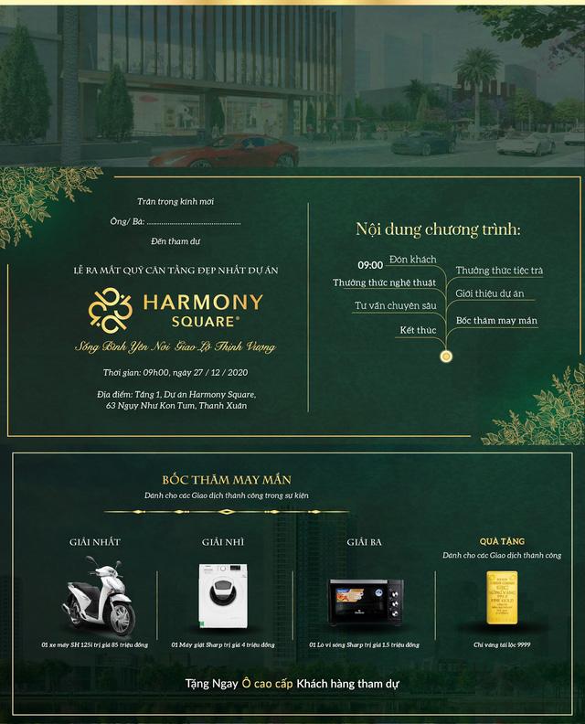 Harmony Square tung chính sách ưu đãi thu hút khách hàng dịp cuối năm - Ảnh 3.