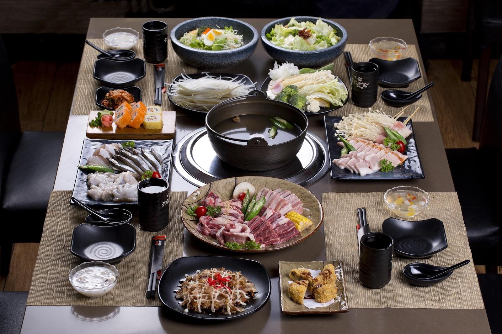 Những món ăn chất lượng tại Sumo BBQ