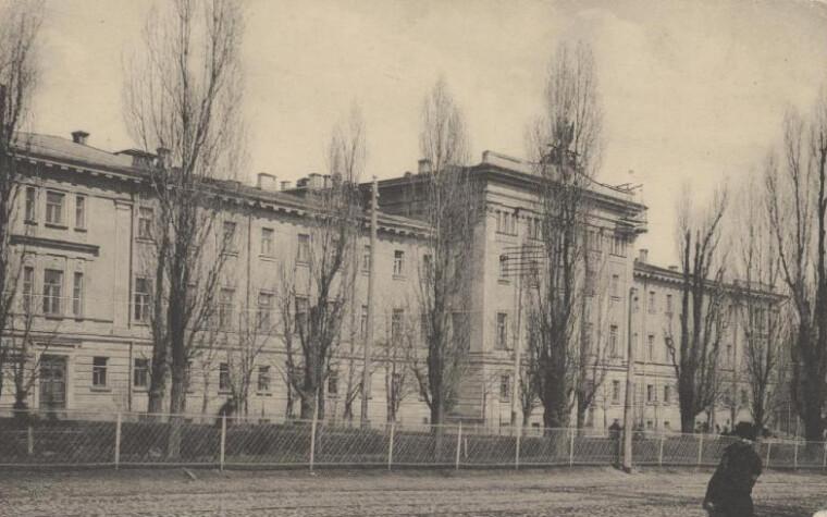Дом Первой киевской мужской гимназии. Фото нач. 20 в.