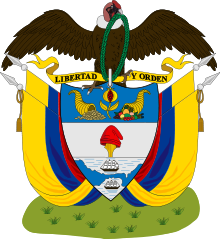 Coat of arms of Colombia (1890).svg