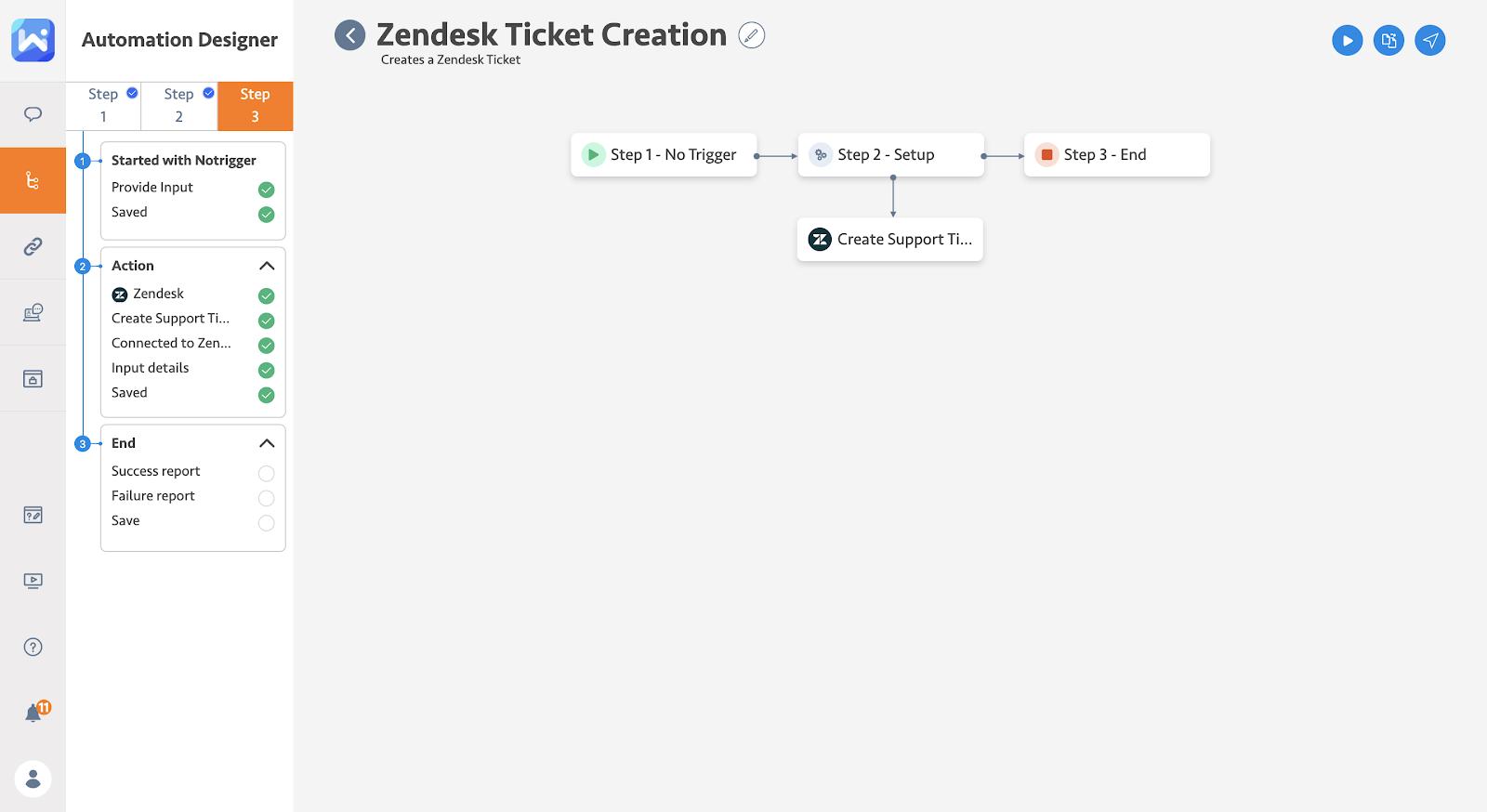 Zendesk ticket