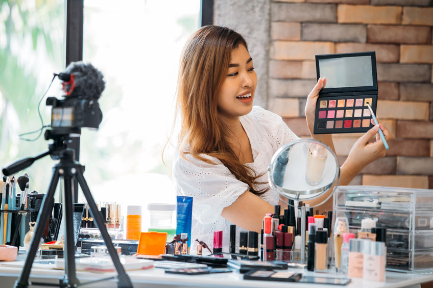 Beauty brand marketers have figured out how they can continue supplying their products to people in shutdown.