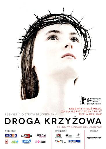 Przód ulotki filmu 'Droga Krzyżowa'