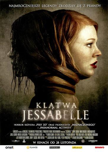 Przód ulotki filmu 'Klątwa Jesabelle'