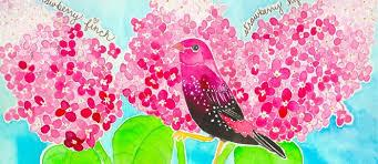 Image result for strawberry bird illustration