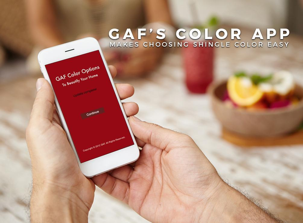 GAF Color App