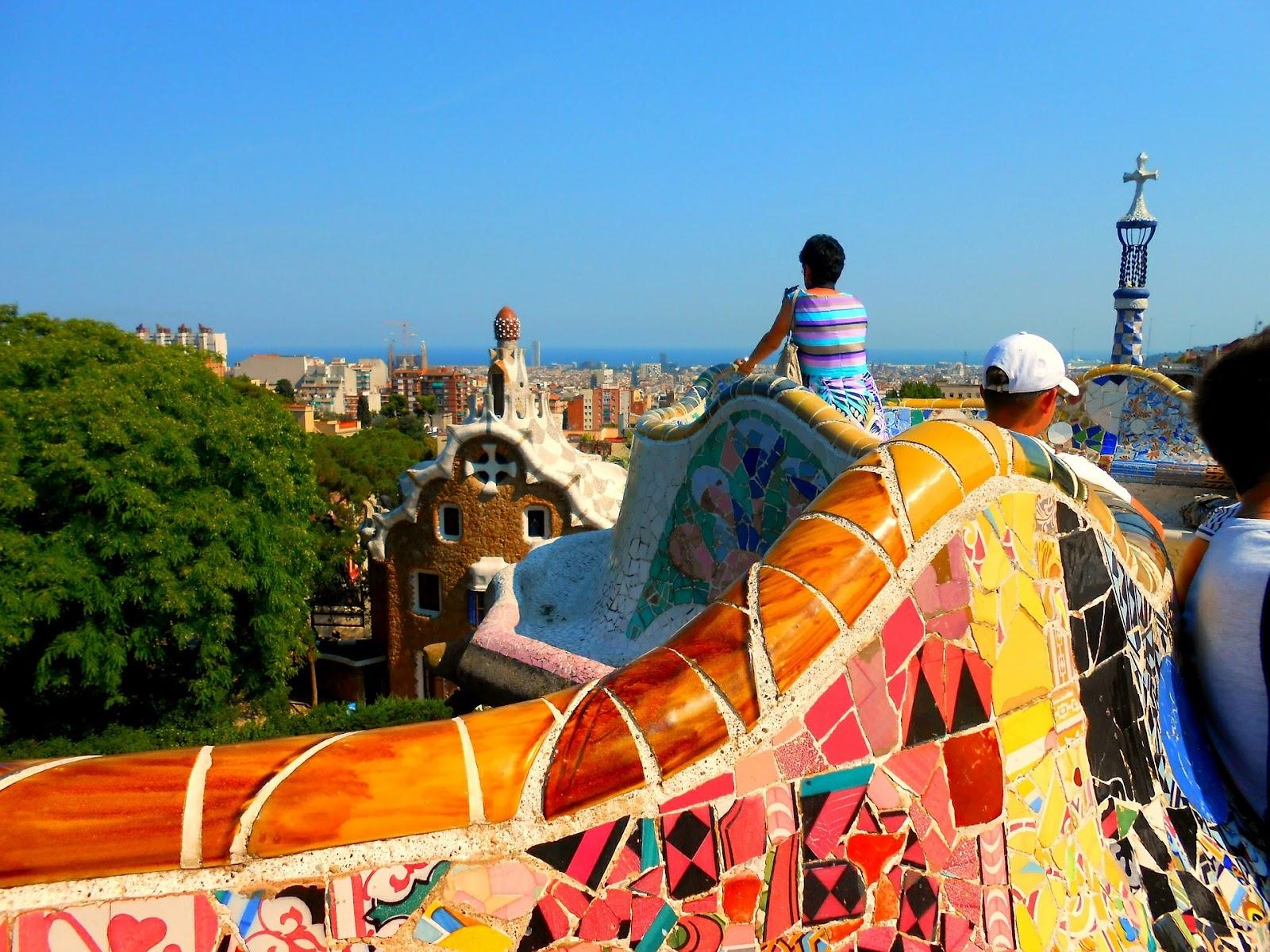 Ver Parque Güell Barcelona