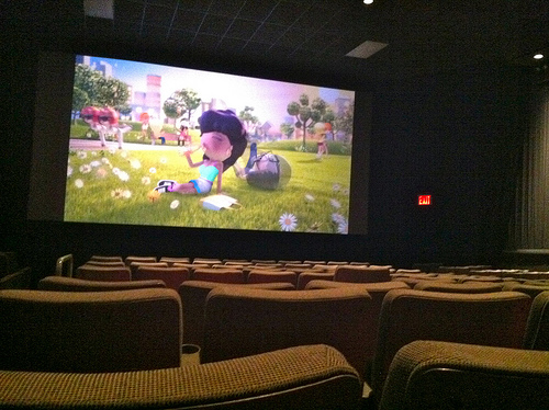 Best Seat In A Movie Theater
