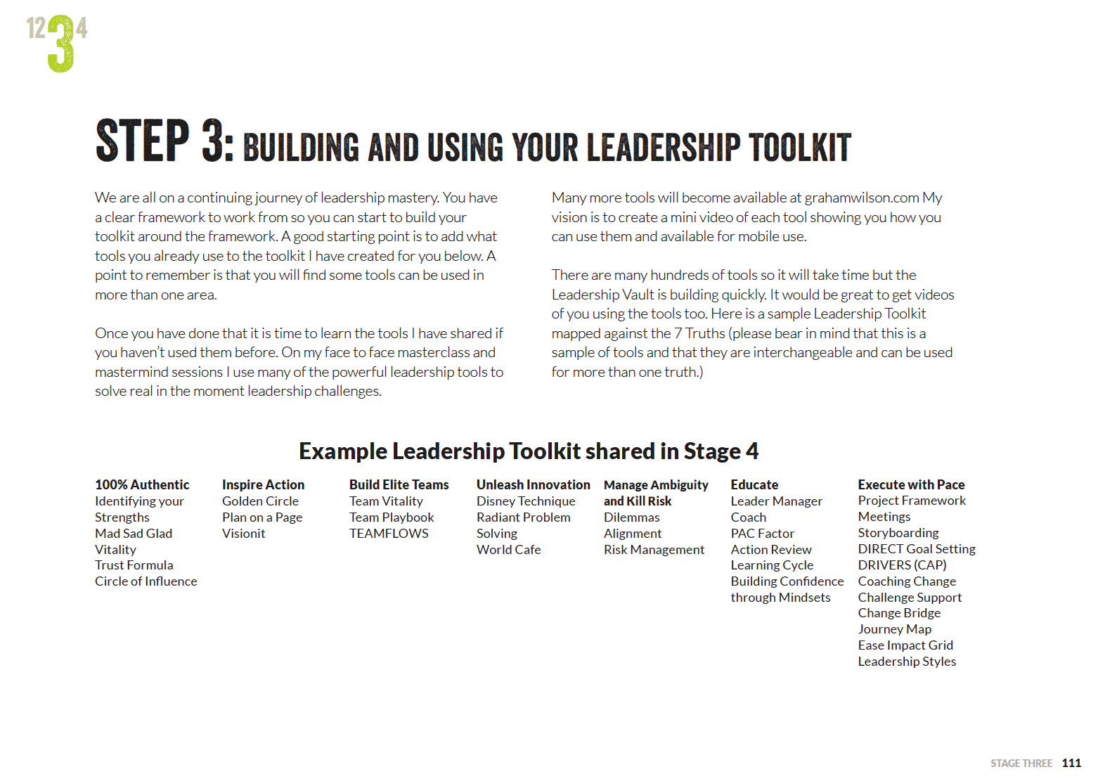 Building and Using Your Leadership Toolkit by Successfactory