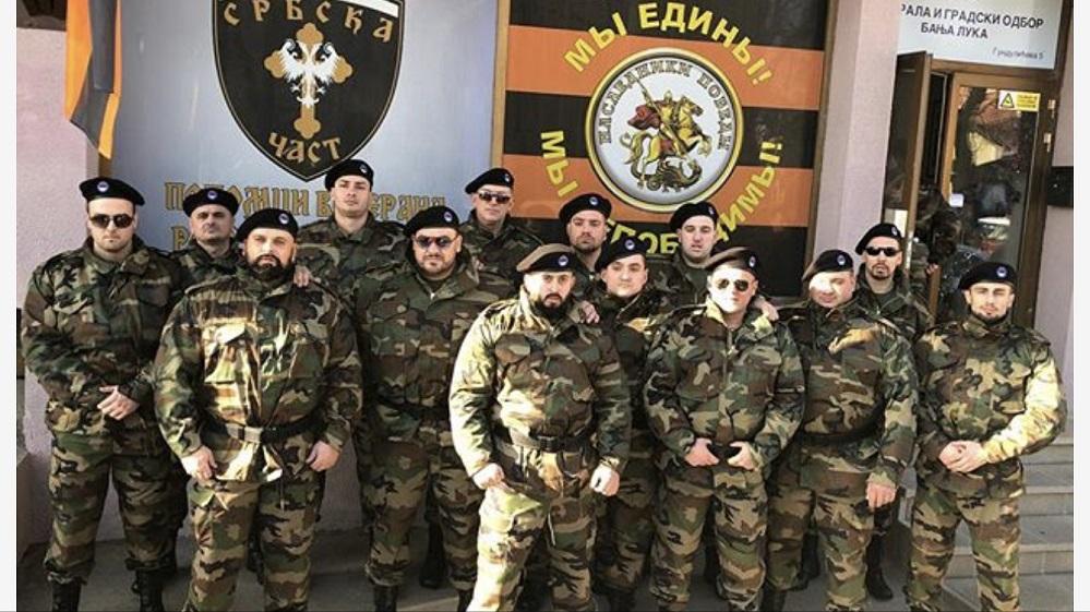 Завдяки росіянам та сербам Мілорад Додік формує парамілітарні підрозділи у Республіці Сербській, стверджували боснійські медіа. Фото zurnal.info