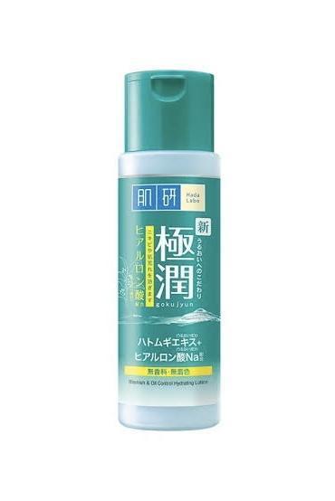 4. HADA LABO Blemish & Oil Control Lotion (สีเขียว)