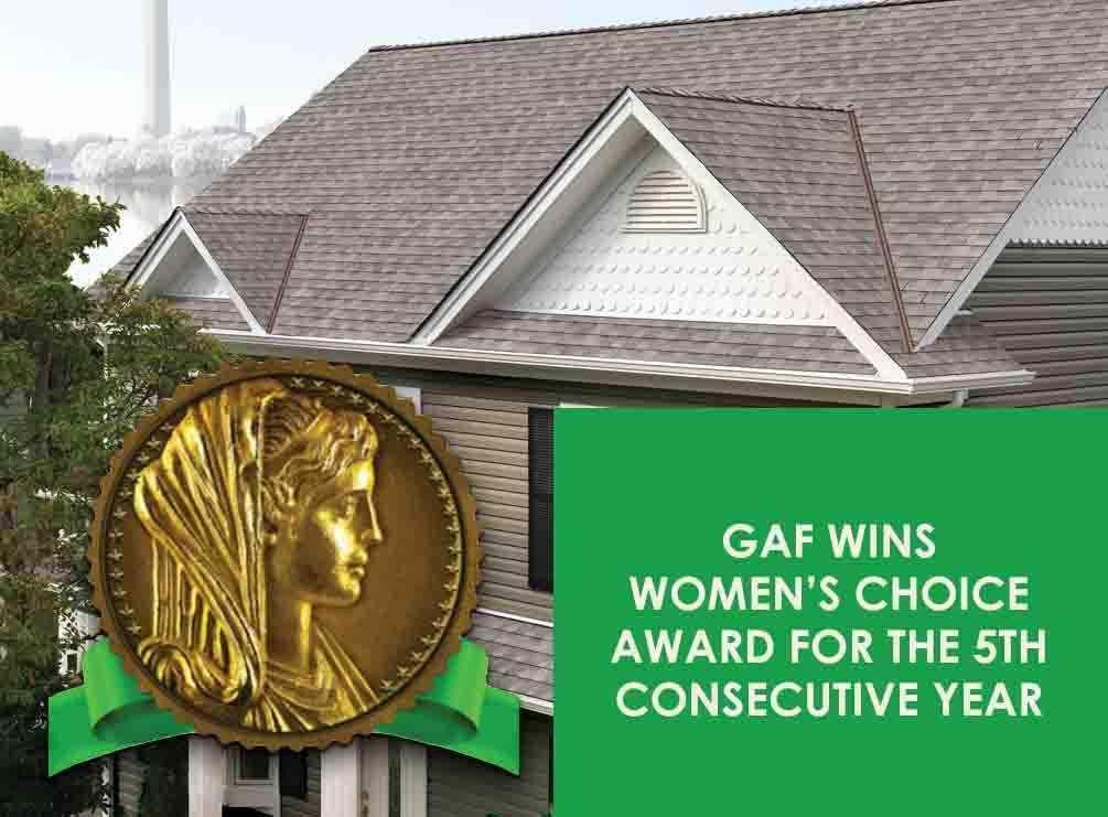 GAF Wins Women's Choice