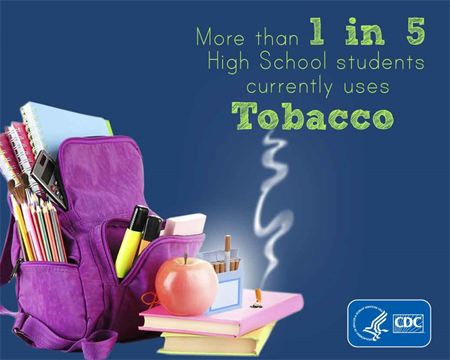 More than 1 in 5 High School Students currently uses tobacco