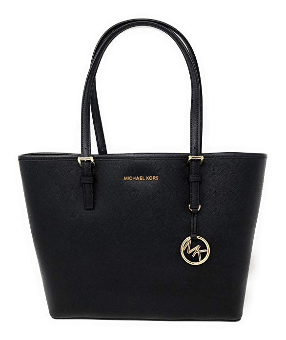 Try a purse for work like the Michael Kors Jet Set Medium Carryall Tote in Black